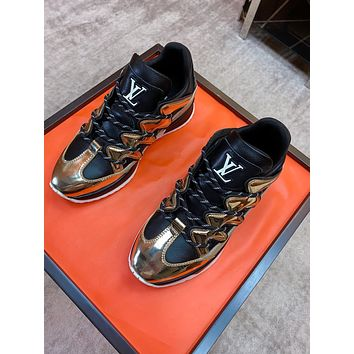lv louis vuitton womans mens 2020 new fashion casual shoes sneaker sport running shoes 322