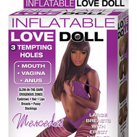 Nasstoys Inflatable Love Doll Mercedes - Brown