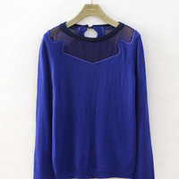Knitted Long Sleeve Pullovers