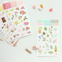 Blossom Deco Sticker Set