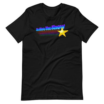 The More You Know Short-Sleeve Unisex T-Shirt