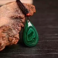 Natural Malachite Stone Pendant