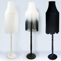 NEW! Fade Fringe Floor Lamp
