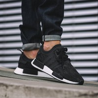 Best Online Sale Adidas NMD R1 Primeknit Winter Wool BB0679 Boost Sport Running Shoes Classic Casual Shoes Sneakers