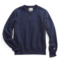 Reverse Weave Sweatshirt in Navy