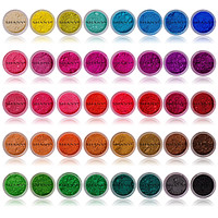 Eye Sparkle/Eye shadow Loose Powder - Set of 40 Colors