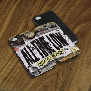 All Time Low Nothing Personal Flip Case iPhone 5 6 6s Plus Samsung S5 S6 Edge