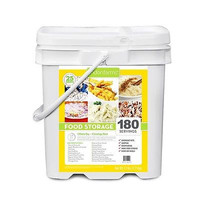 Lindon Farms 180 Serving Grab and Go Bucket Freeze Dried Survival 15 Days Food