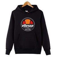 2018 Fashion Vintage ELLESSE Hoodies sweatshirts Men/Women Clothes Unisex Casual Harajuku Hip Hop sweatshirts size XS-XXXXL