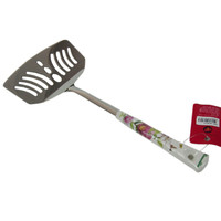 South Korean imports of large stainless steel roses fresh fish spatula shovel shovel shovel pancakes frying pan