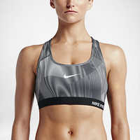 The Nike Pro Classic Padded Frequency Women's Sports Bra.