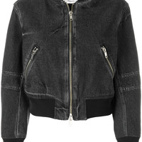 3.1 Phillip Lim Cropped Bomber Jacket - Farfetch