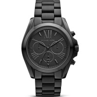 Michael Kors Brushed Stainless Steel Chronograph, 43mm
