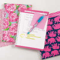 Lilly Pulitzer Mini Notebook - See Jane Work