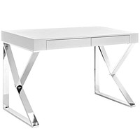 White Adjacent Desk
