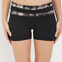 Active Abstract Print Shorts | Forever 21 - 2000161660