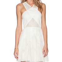SAYLOR Greta Dress in White