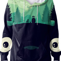 Totoro Hoodie created by Maioriz | Print All Over Me