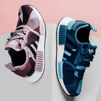 SUMMER11 ADIDAS NMD Women Running Sport Casual Shoes Sneakers camouflage Purple Blue
