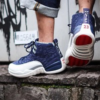 Air Jordan 12 International Flight Bv8016-445