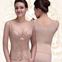 Body Shaper Waist Sexy Sleeveless Slim Skinny Corset [4965282372]