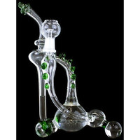 """Marblo Monster Recycler - 12"""" Dab Rig"""