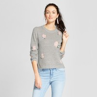 Women's Floral Print Sweater - Xhilaration™