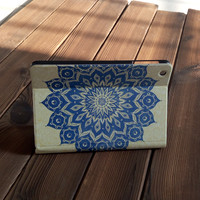 Leather Case with Perfection Prime Design for iPad Mini