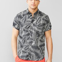 Gap Men Lived In Leaf Print Shirt