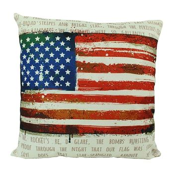 American Flag   Pillow Cover   Throw Pillow   Home Decor   Vintage Pillow   Decor Rustic   Home Decor Ideas   Gifts For Travelers   Dad Gift