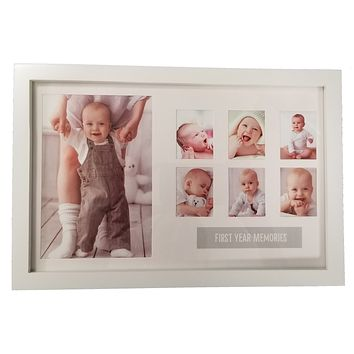 """""""First Year Memories"""" Baby Frame"""