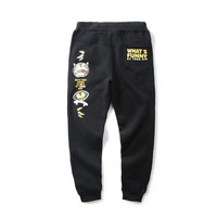 Men Pants Casual Print Devil Sportswear [10199581127]