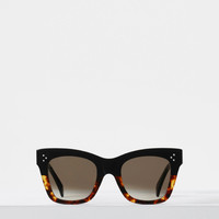 CAT EYE SUNGLASSES IN ACETATE