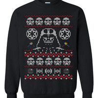 Star wars darth vader Ugly Christmas Sweater sweatshirt unisex adults size S-2XL