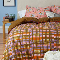 ModCloth Dorm Decor Drifting Off to Dreamland Duvet Cover Set in Full, Queen