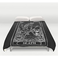 Death Tarot Card Comforter