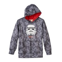 Star Wars Stormtroopers Pullover Hoodie - Boys 8-20, Size: