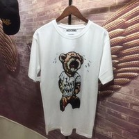 "Moschino ""Cry Bear"" Fashion Women T Shirt"