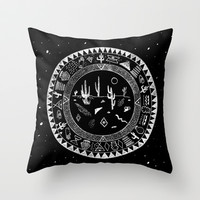 INSIDE OF DESERTS Throw Pillow by Kris Tate