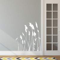 Sea Oats Sea Grass Style A Vinyl Wall Decal 22422