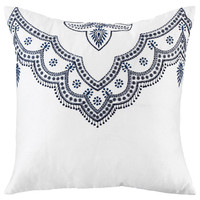 Archway 18x18 Pillow, Navy, Decorative Pillows