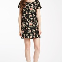 Flirty Floral Shift Dress