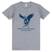 American Smeagol Outfitters-Unisex Athletic Grey T-Shirt
