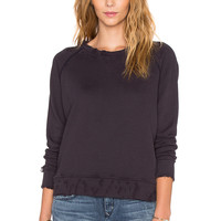 MOTHER Mended The Square Sweatshirt in Rough & Tumble