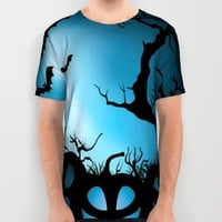 BAT HALLOWEEN All Over Print Shirt by Acus