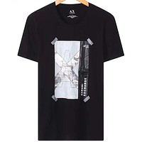 Armani Exchange Fashion Casual Short Sleeve Top Tee