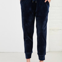 Silence + Noise Victoria Velour Jogger Pant | Urban Outfitters