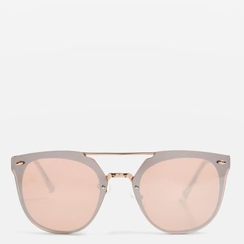 Monique Rimless Retro Sunglasses - Sunglasses - Bags & Accessories