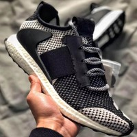 Adidas Consortium Day One ADO Ultra Boost ZG Joint Black and White Color Matching F-CSXY