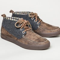 09/65 bayside moccasin chukka oiled leather/boiled wool